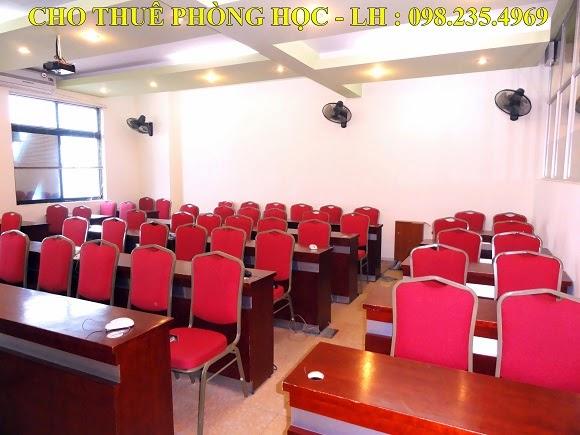 phòng học 50 chỗ tại hà nội