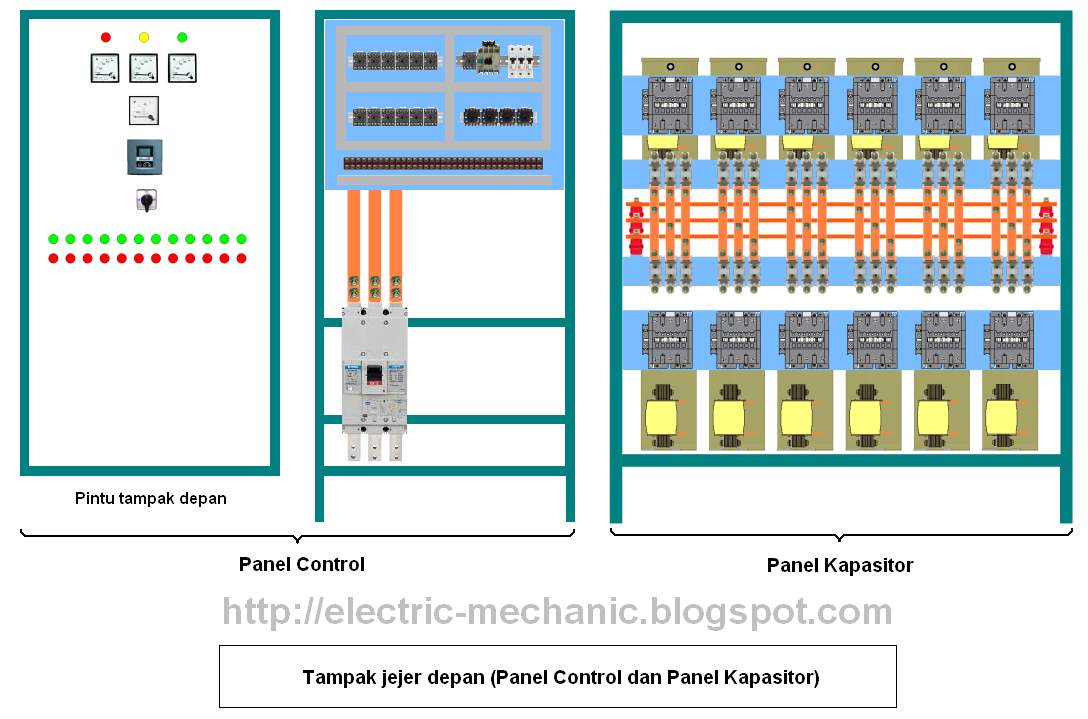 Wiring diagram panel kapasitor online schematic diagram cara membuat sendiri panel kapasitor bank industri menggunakan rvc abb rh electric mechanic blogspot com kapasitor bank wiring diagram panel capacitor bank cheapraybanclubmaster Image collections