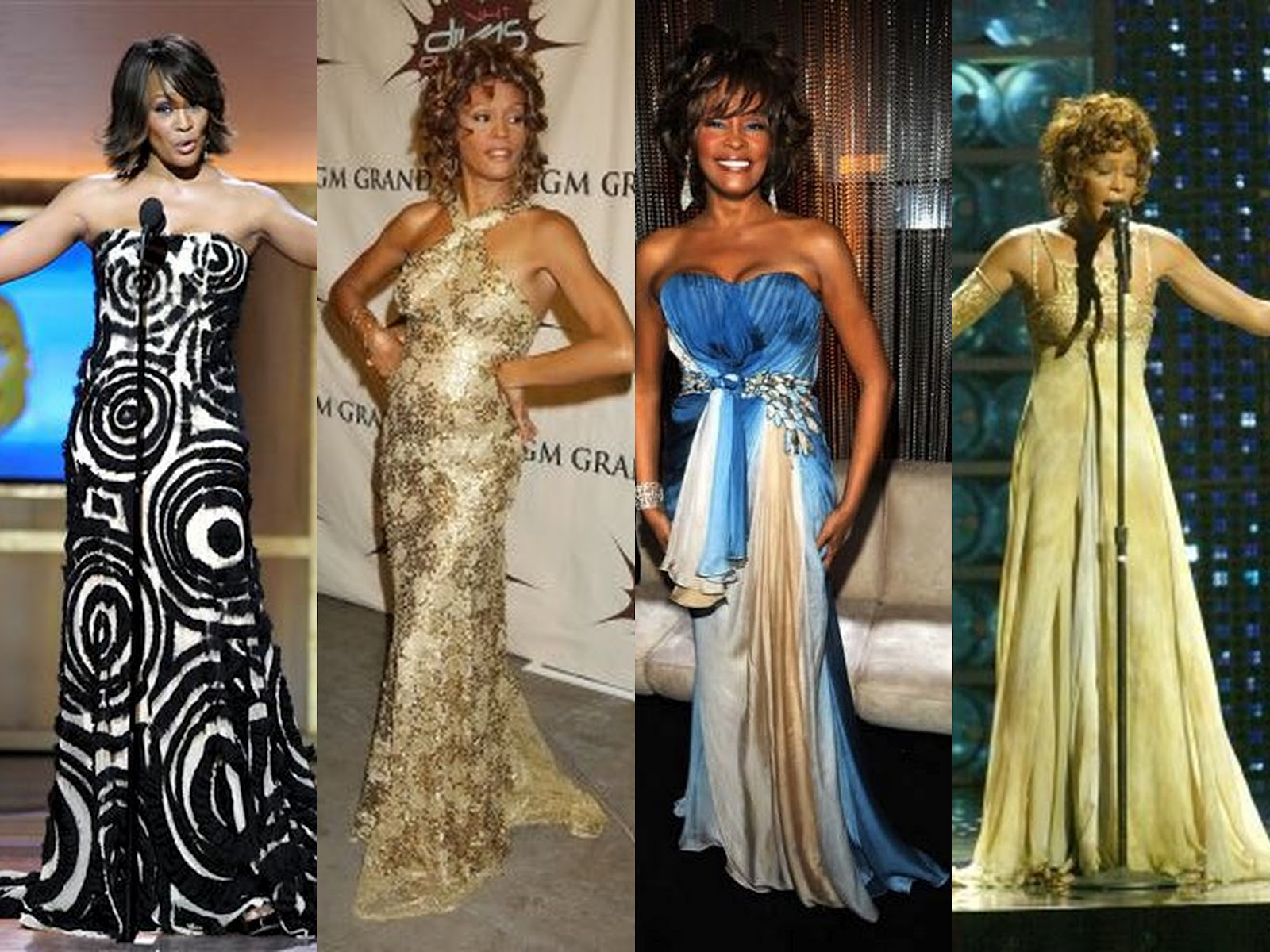 Pretty Cute and Outrageous: Looking Back on Whitney Houston\'s Style