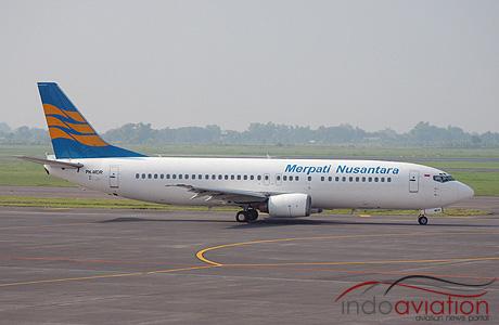 Merpati Nusantara Boeing 737-400 PK-MDR