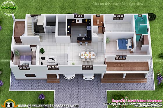 First floor isometric view