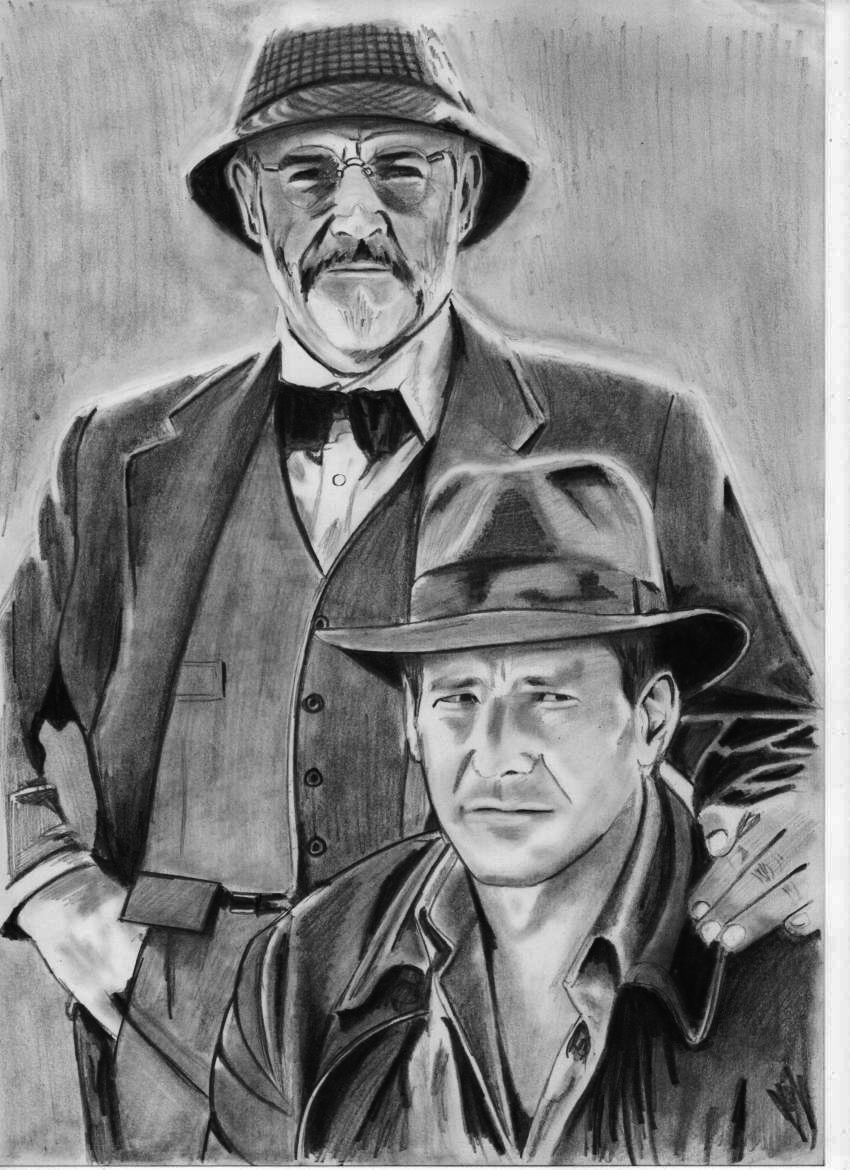 Dessins alain mitildjan - Coloriage indiana jones ...
