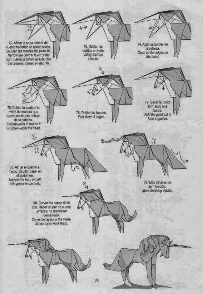 very complex origami instructions indesign art and craft