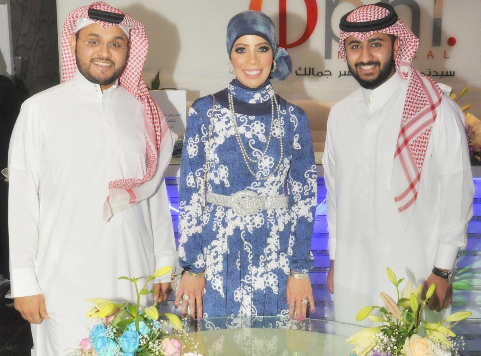 مع المطربين السعودىين  شداد السعيد وأحمد عبد الكريم عام 2016
