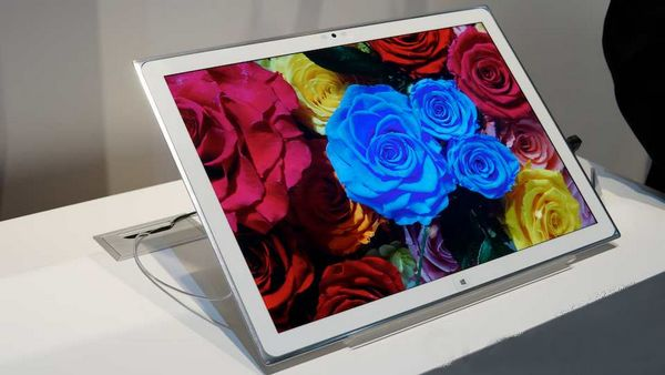 Panasonic Introduces 20-inch 4K/Ultra HD Windows 8 Tablet at CES 2013