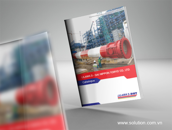 Mẫu thiết kế catalogue công ty Lilama3