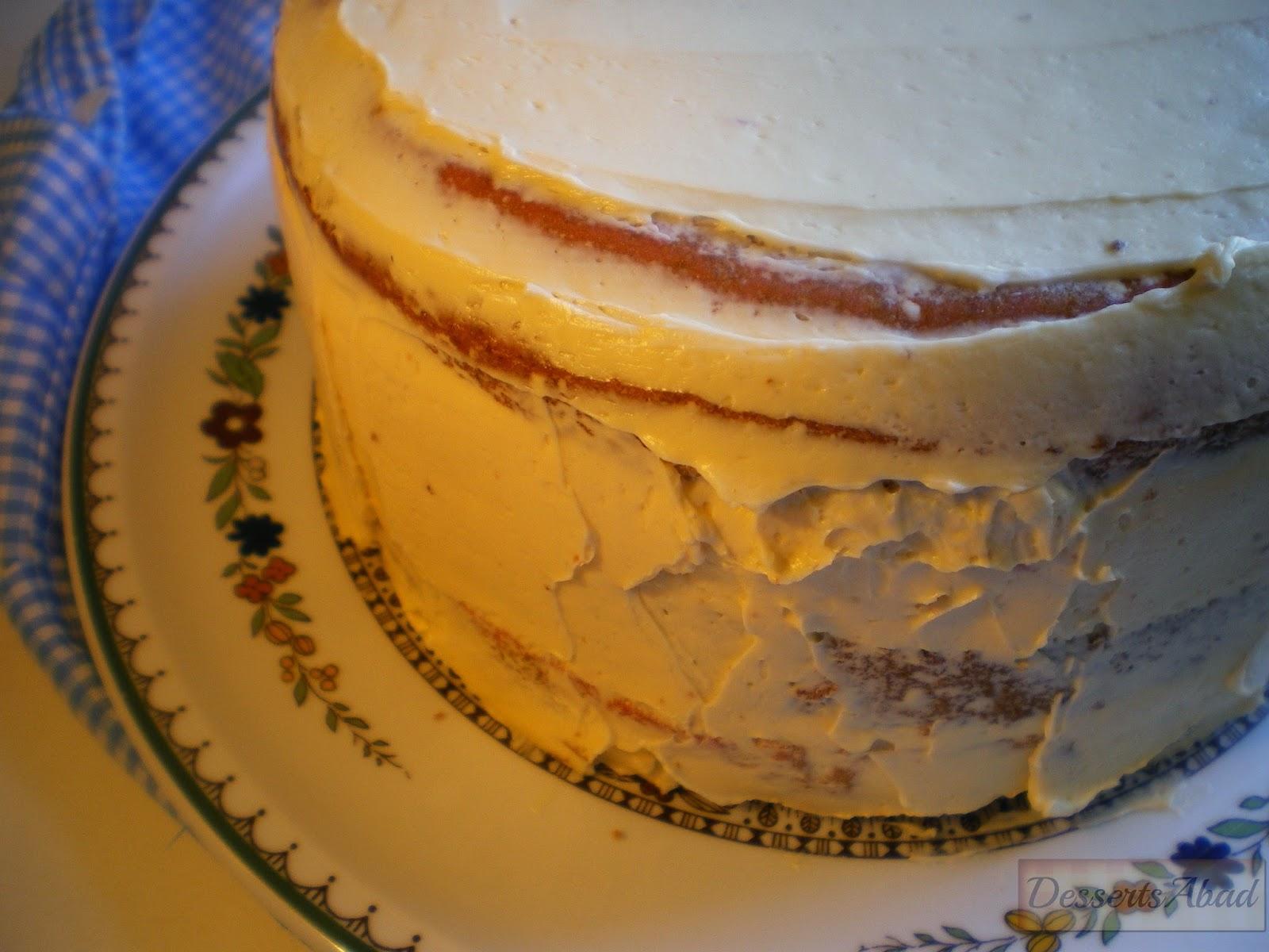 Vamp Attack Cake (Frosting de vainilla)