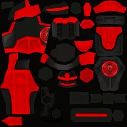 Red Dragon Trooper Armor | NIGHT002.BLOGSPOT.COM