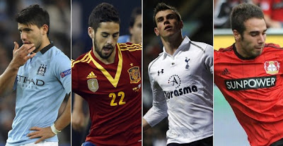 Real Madrid signing candidates 2013