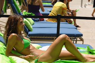 Maria Menounos Bikini, Maria Menounos Lime-A-Rita Cinco Party