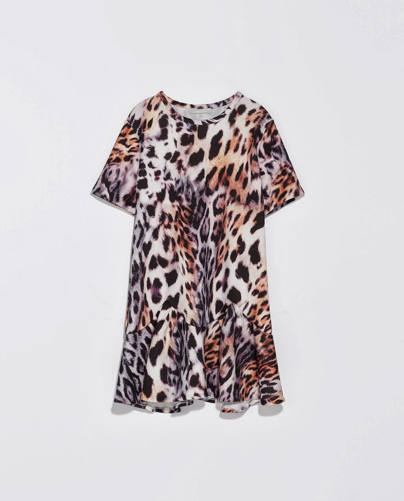 zara leopard dress