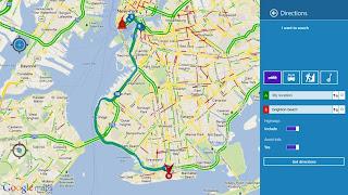 Aplikasi Peta atau Map untuk Windows 8