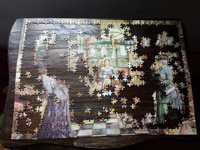 Weihnachtliches Puzzle