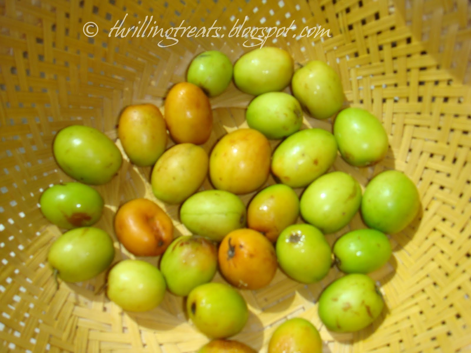 Food for art, heart and thought!: Regi palla Pachadi/Ber chutney ...