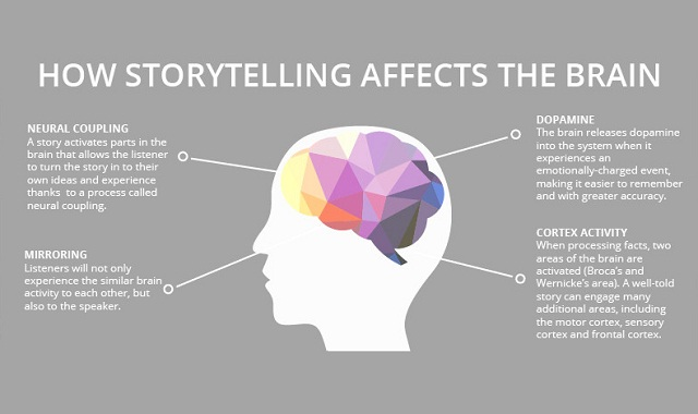 Image: The Science of Storytelling #infographic