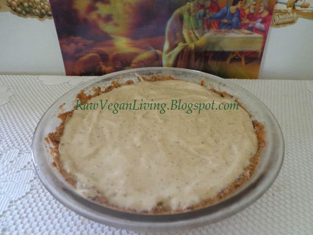 coconut banana poppy seed pie