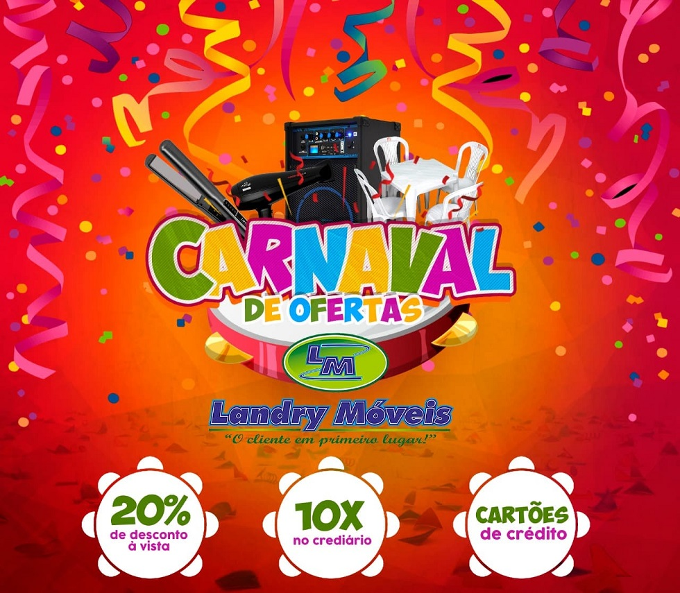 Carnaval de Ofertas Landry Móveis