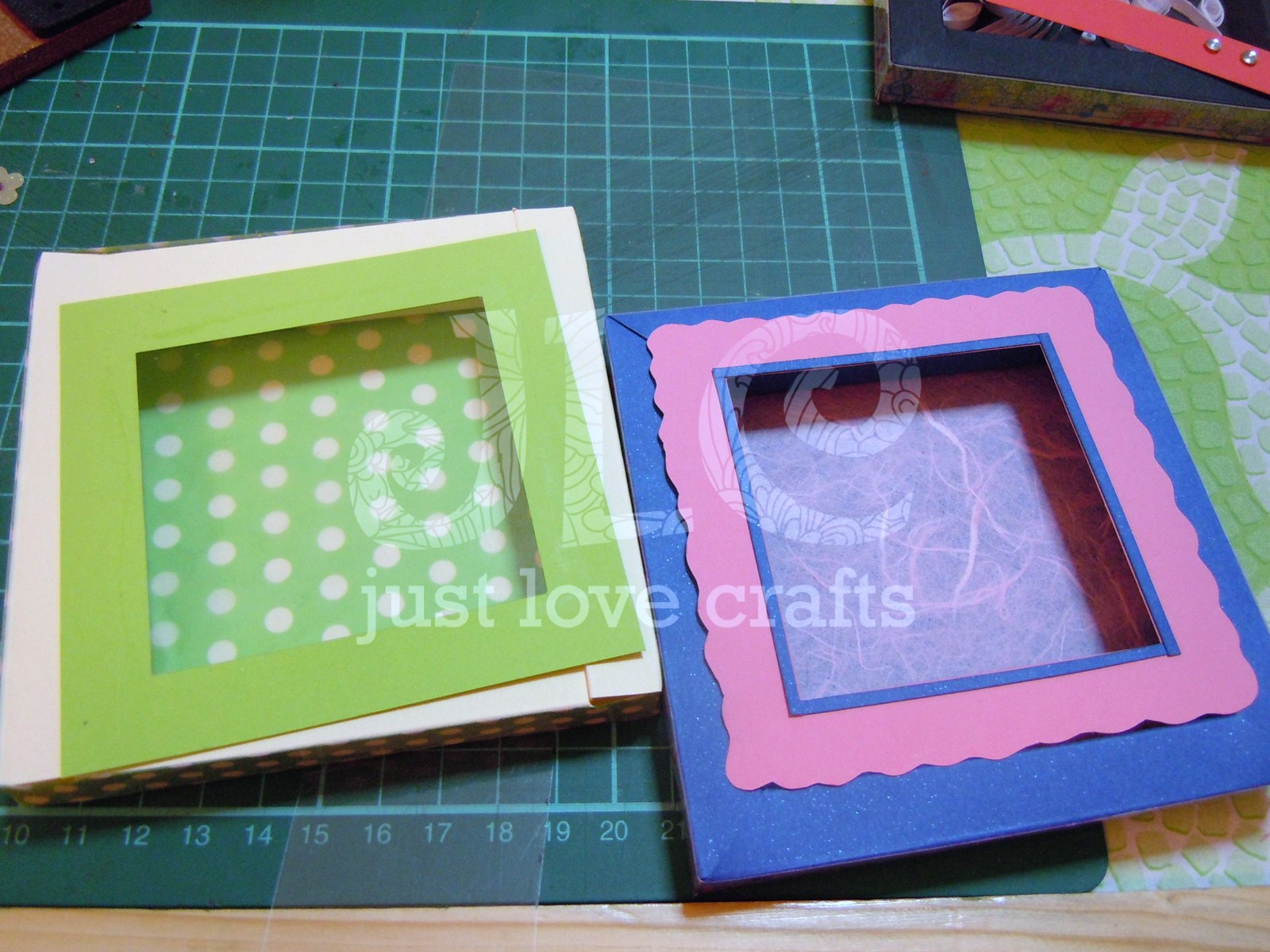 Just love crafts framed shadow box do it yourself quilled just love crafts framed shadow box do it yourself quilled frames part 1 jeuxipadfo Image collections