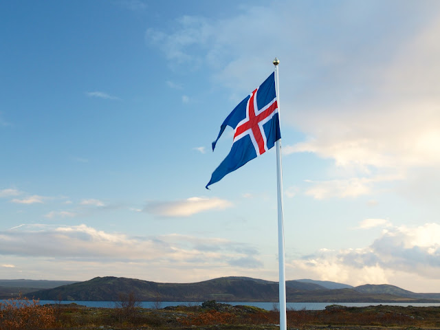 iceland, reykjavik, travelling, iceland flag