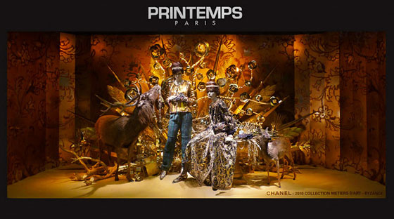 Karl Lagerfeld Printemps Navidad París