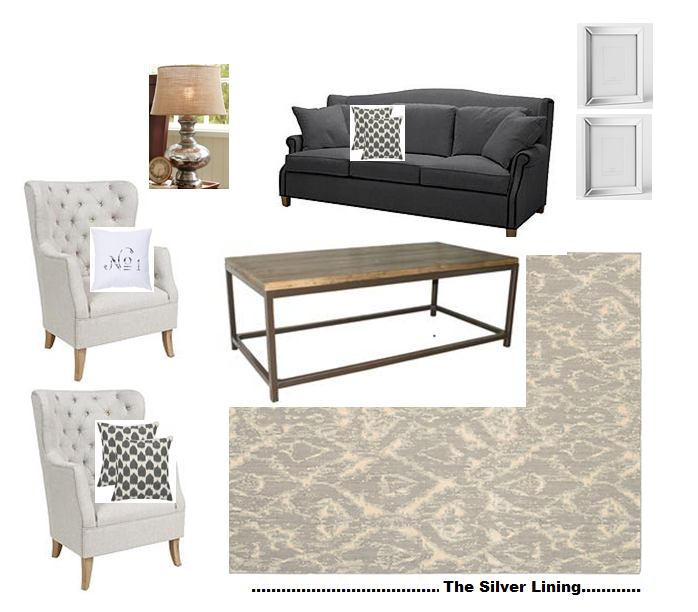 Everett Coffee Table: The Silver Lining: Living Room Plans