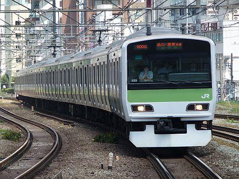 山手線 品川・東京方面行き