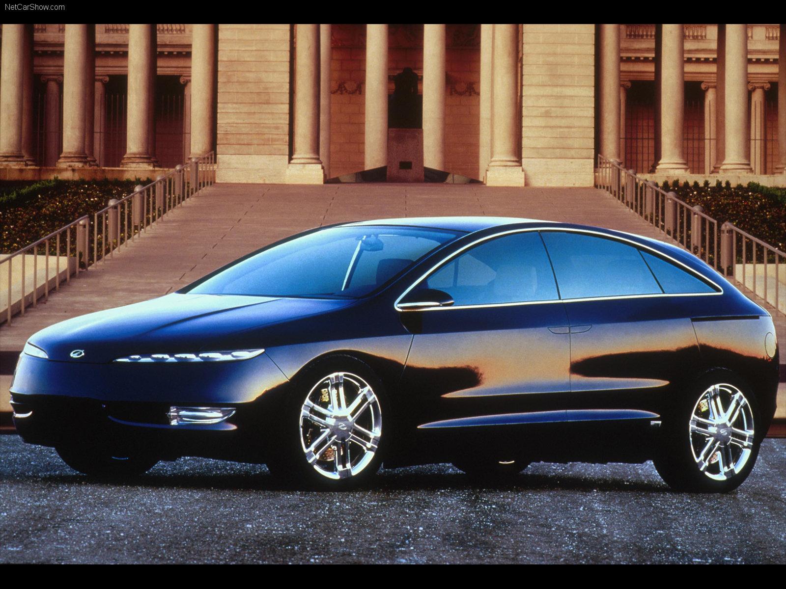Hình ảnh xe ô tô Oldsmobile Profile Concept 2000 & nội ngoại thất