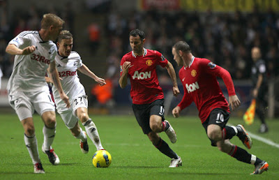 Swansea City 0 - 1 Manchester United (2)