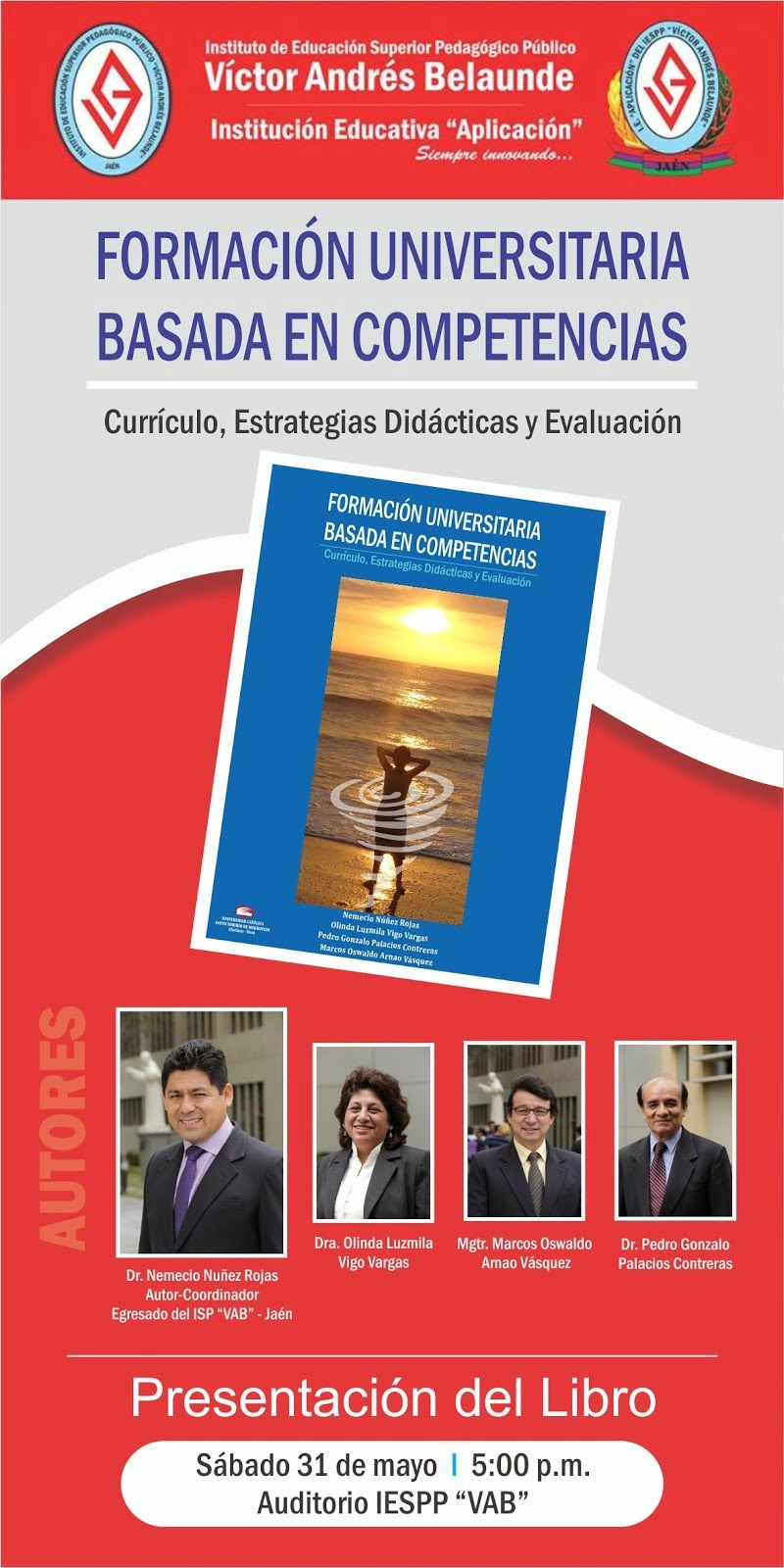 Presentación de mi Libro, Jaén - Perú