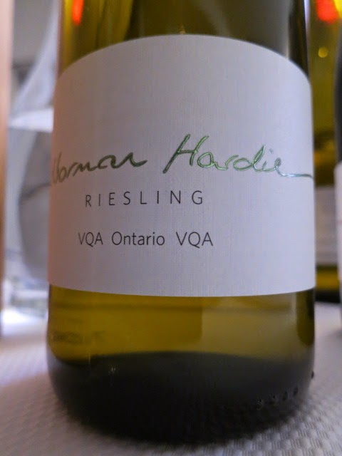 Wine Review of 2012 Norman Hardie Riesling from VQA Ontario, Canada