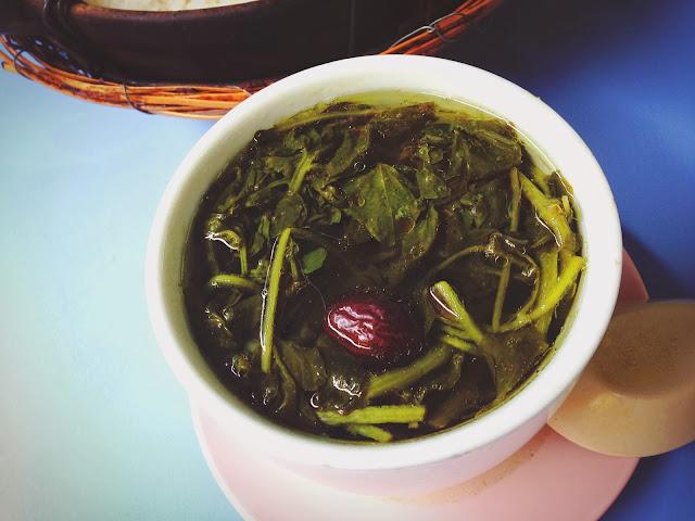 Watercress Soup at Yuan Fa Claypot Rice