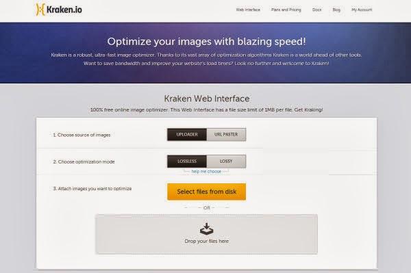 kraken.io-lotes de imagen-comprimir imagen-optimizar web