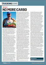 Latest Photojournalism: Nutrition article published in July 2012 TriathlonPLUS