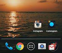 Instagram Clone,dua Instagram di satu Android