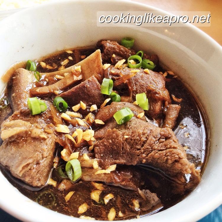 Beef Pares Recipe