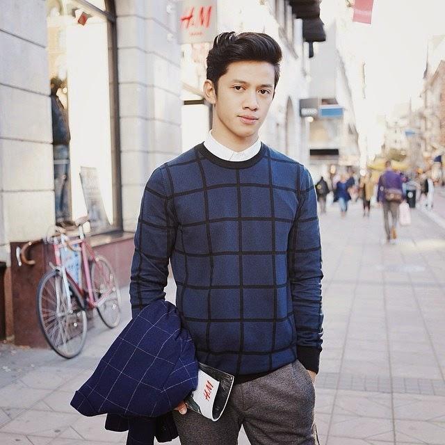 estampado de cuadricula, moda masculina, tendencia, estilo hombres, inspiración looks, outfits de moda