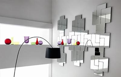 طرق رائعة لااستغلال المرآة فى منزلك .. Exotic-Modular-Glass