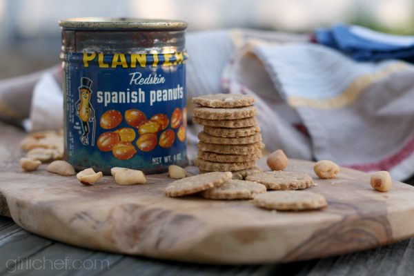 Whole Wheat Peanut Crackers inspired by The Terminal for Food 'n Flix | girlichef.com