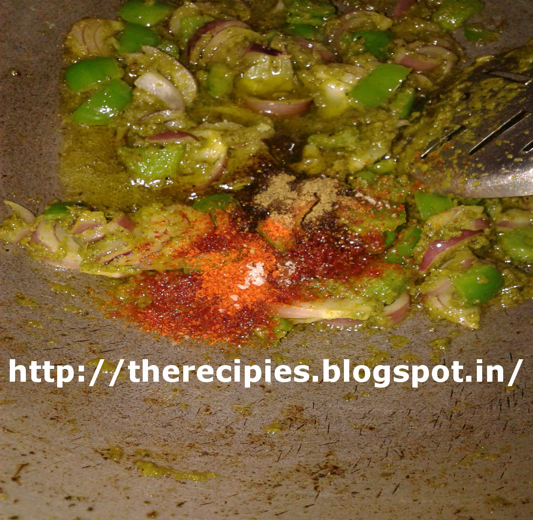 seasoning with indian masala