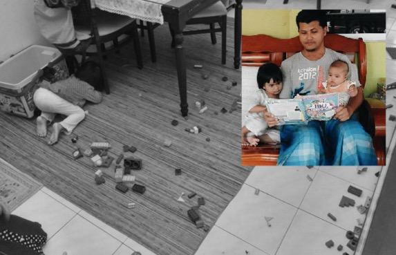 2 Trick Bijaksana Seorang Ayah Minta Anak Kemas Mainan Sendiri