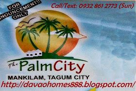 Hot Deals no.1 in Davao Region  -  Mankilam, Tagum City