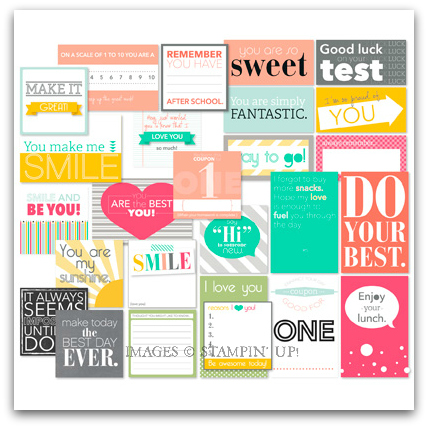 Do Your Best Printables - Digital Download by Stampin' Up!