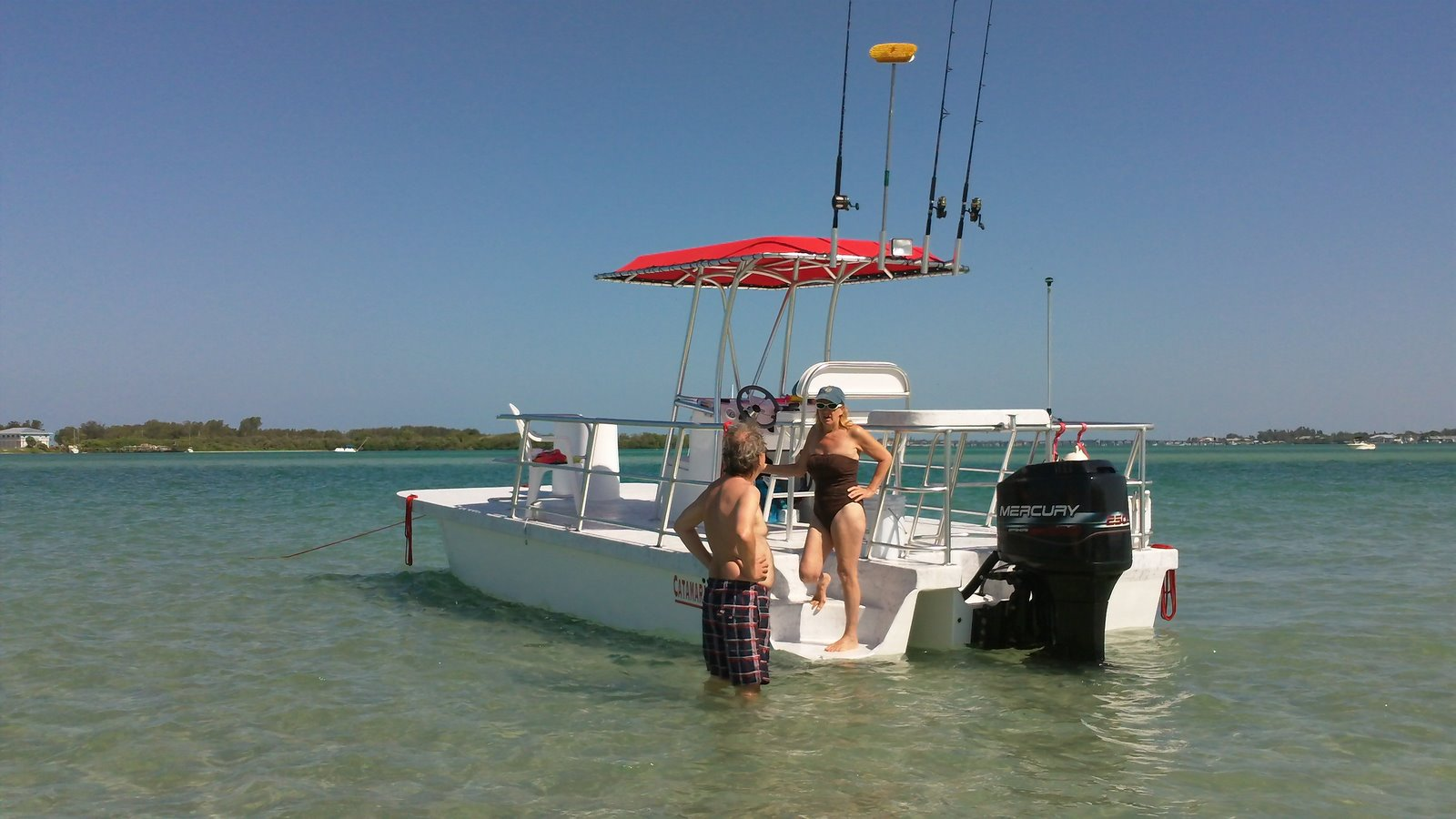 Catamaran coaches pontoon boats fish dive trimarans by for Party boat fishing near me