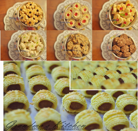HARI RAYA COOKIES 2013... We will update our Delicious cookies for 2014 soon :)