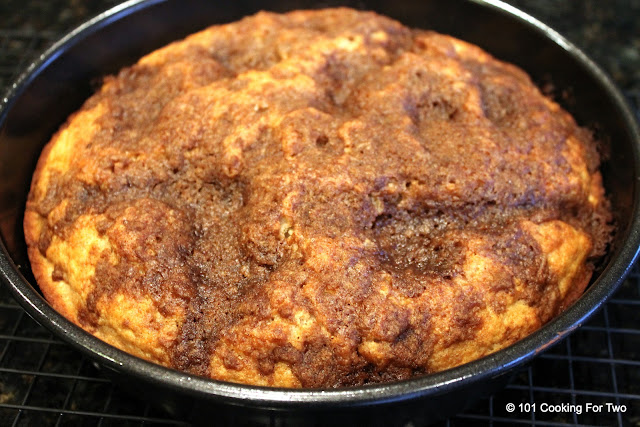 Favorite Cinnamon Streusel Coffee Cake aka Daddy Coffee Cake from 101 Cooking For Two