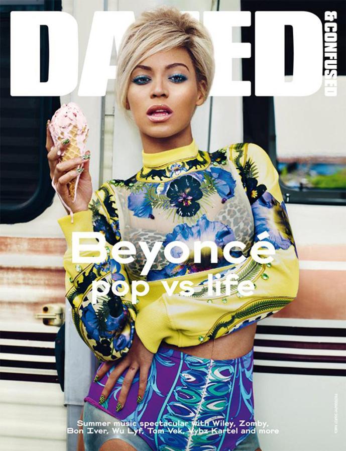 Dazed & Confused July 2011 / ice-cream fashion editorials / via fashioned by love