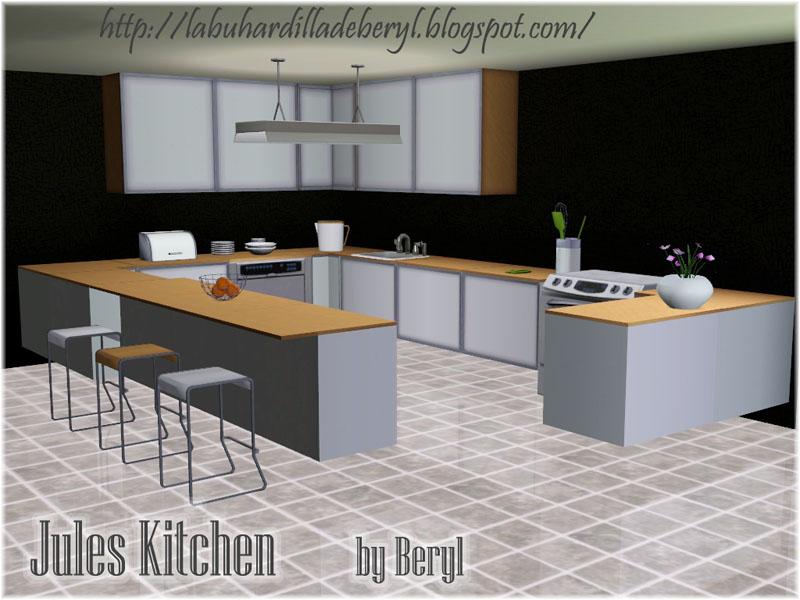 My Sims 3 Blog Jules Kitchen Set By Beryl