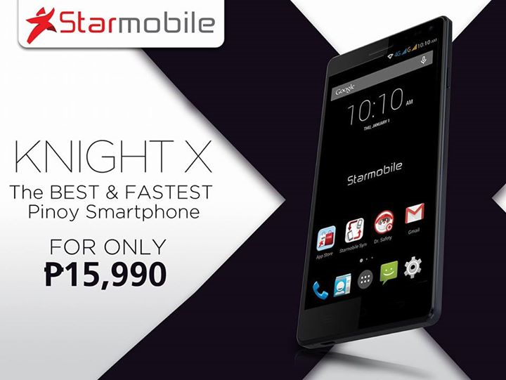 Starmobile Knight X Price