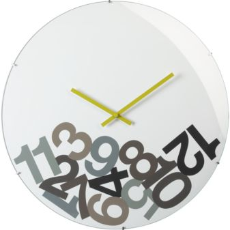 Tomorrow Is New Years Eve. This Clock (currently Being Showcased In New  Designs In CB2) Sums Up How I Feel About Time Today!
