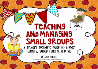 http://www.teacherspayteachers.com/Product/Teaching-and-Managing-Small-Groups-A-Guide-to-Centers-Guided-Reading-RTI-941219